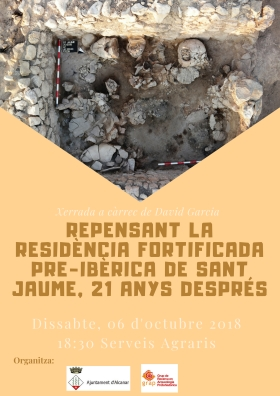 Repensant la residència fortificada pre-ibèrica de Sant Jaume, 21 anys després